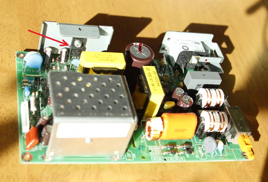 Notes on power supply repair for Nikon Super Coolscan LS